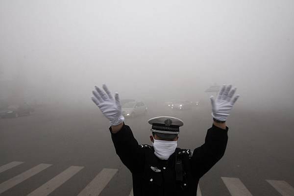 大陸的霧霾