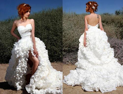 衛生紙婚紗2
