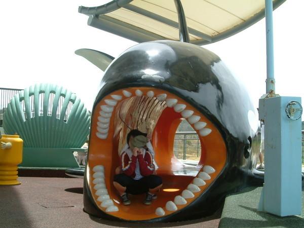 鯨魚把二位格格吞下肚