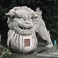 寺前的石獅.jpg