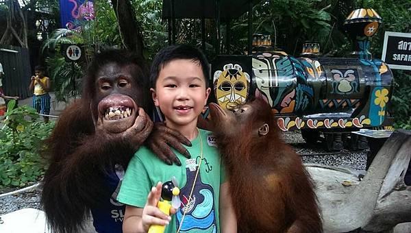 恩恩和紅毛猩猩