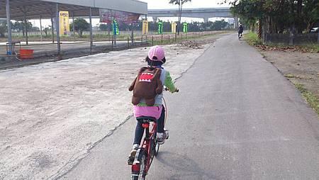 與小敏共騎單車4