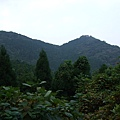 眺望對面的山