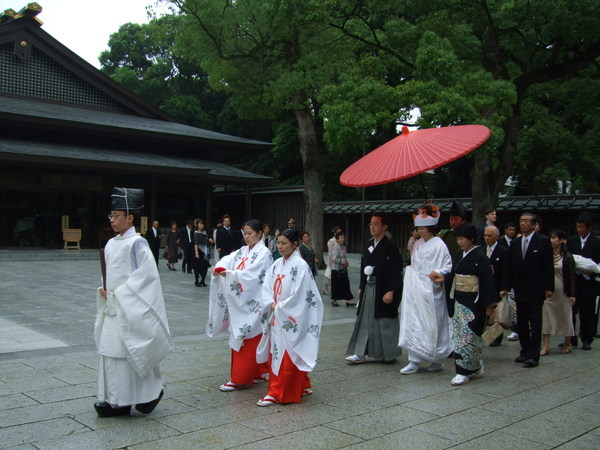 日式的新娘耶