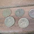 香港的硬幣們
