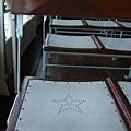 星星形狀的椅子