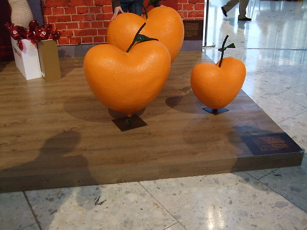 愛心形狀的橘子.JPG