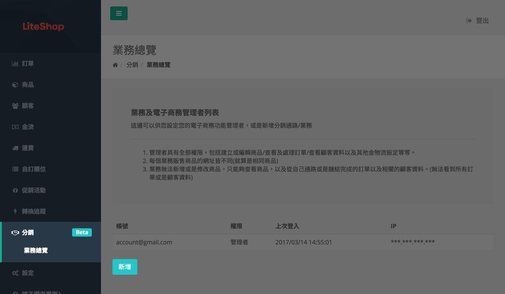[特色] 如何使用 LiteShop 進行社群分銷 (部落格 / 官網 / Facebook 粉絲團 / 粉絲專頁適用)