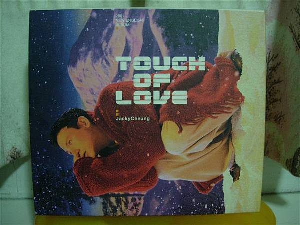 2000張學友「TOUCH OF LOVE」(英文)