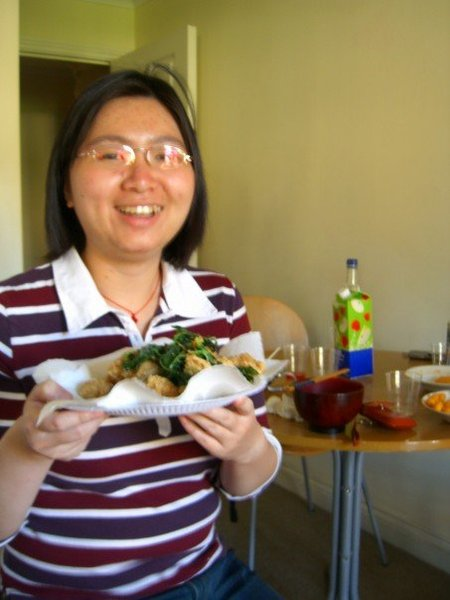 Amber 與鹹酥雞