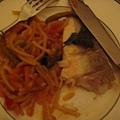 當晚主菜魚