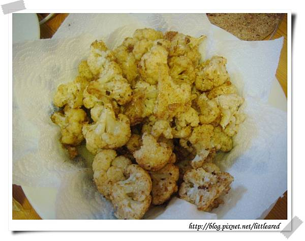 鹹酥雞之炸花椰菜