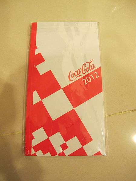 可口可樂小記事本年曆