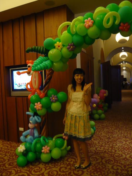 我愛氣球門