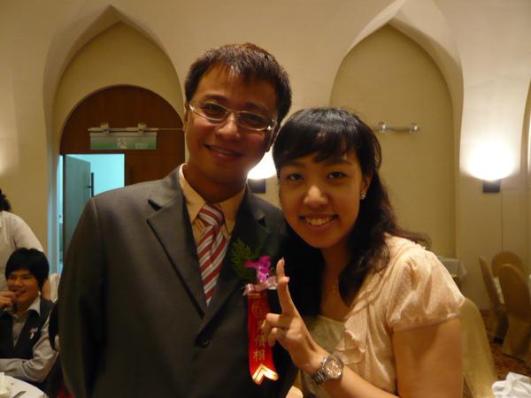 我與男香檳(是男儐相@@)