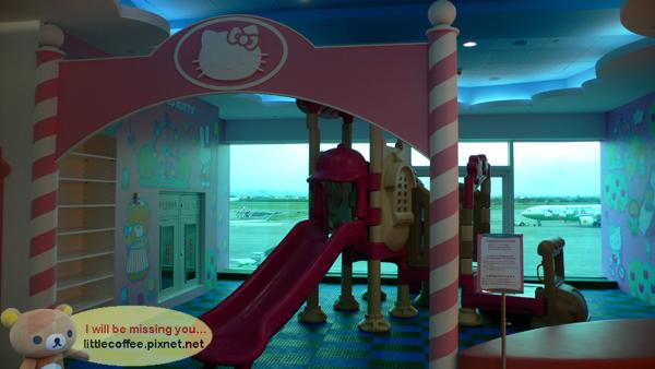 Kitty候機兒童遊戲區
