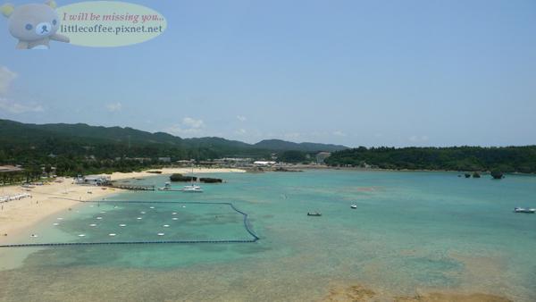 飯店的私人海灘