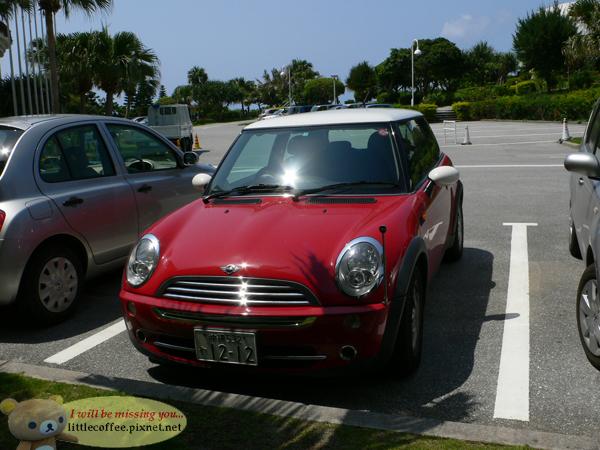 沖繩的Mini Cooper