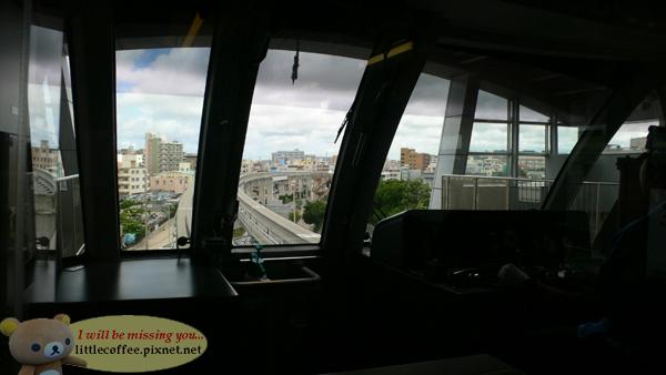 單軌電車上看出去的風景