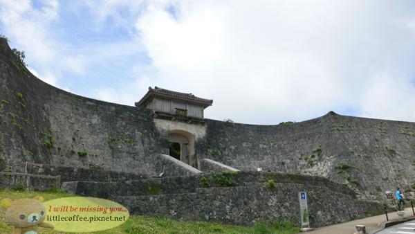 首里城外牆