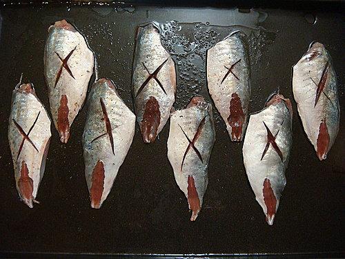 日式梅醬燒竹筴魚6 (2)