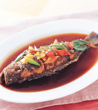 醬汁吳郭魚