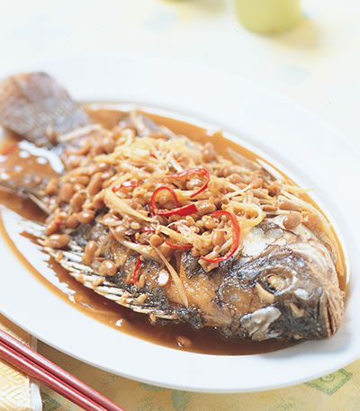 客家豆醬魚