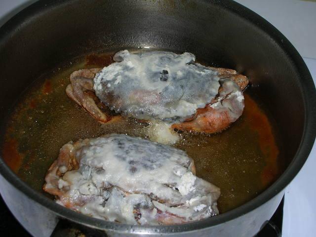 酥炸軟殼蟹(蝦兵蟹將)1