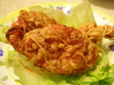趕流行-吃軟殼蟹