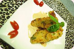 ★ [食譜] 巴西利酥煎魴魚排佐龍蝦美奶滋1