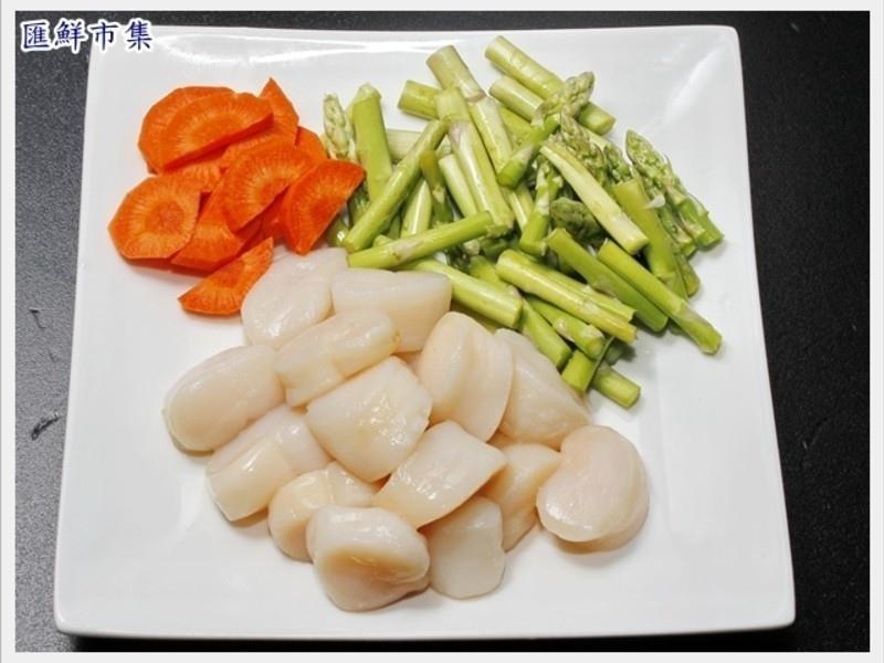腰子貝炒蘆筍4