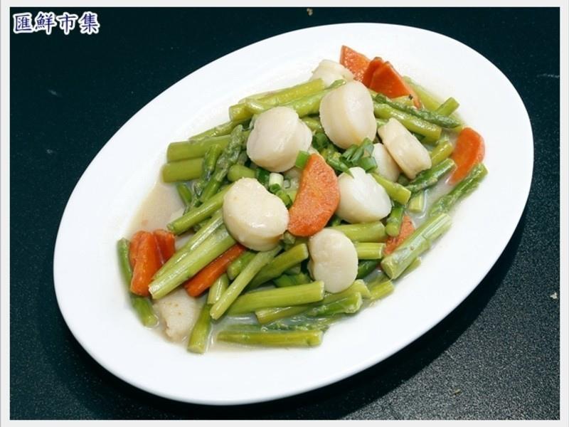 腰子貝炒蘆筍8