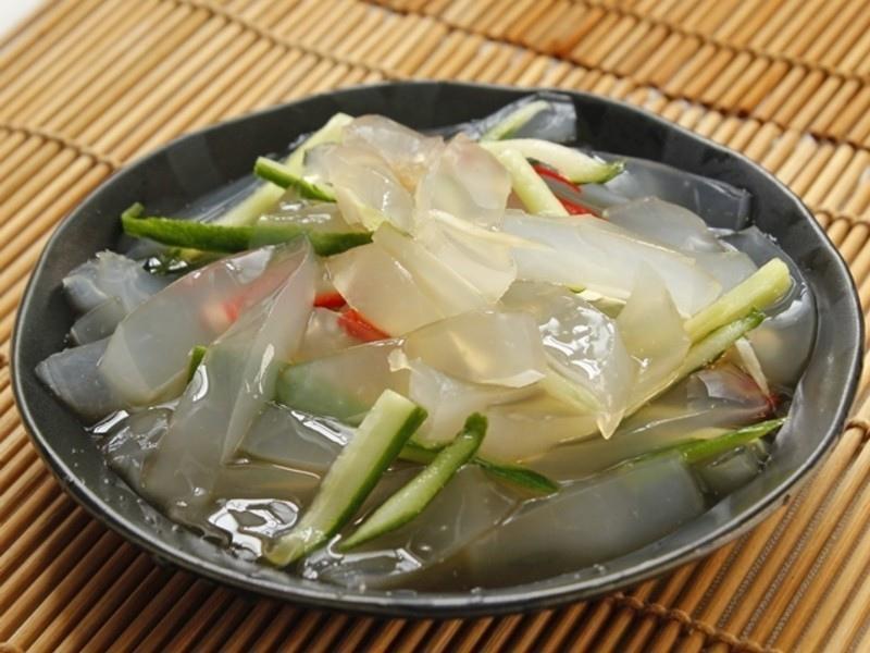【養顏料理】涼拌曼波魚皮6