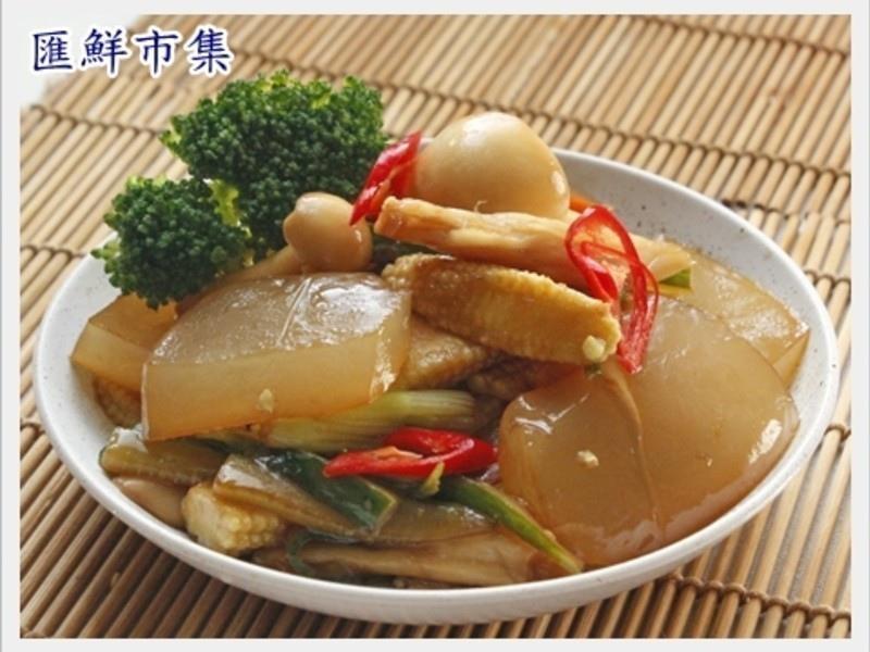 【膠原蛋白美顏料理】炒曼波魚皮6