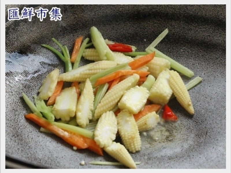 【膠原蛋白美顏料理】炒曼波魚皮4
