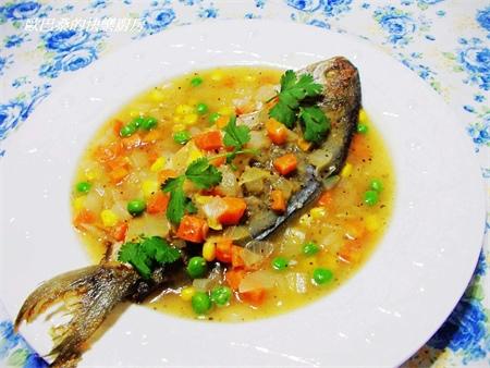 黑胡椒醬花鯧魚9
