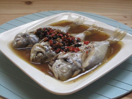 豉汁蒸肉魚