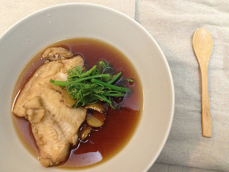 健康煮 - 醬油煮多利魚(煮付け)-1