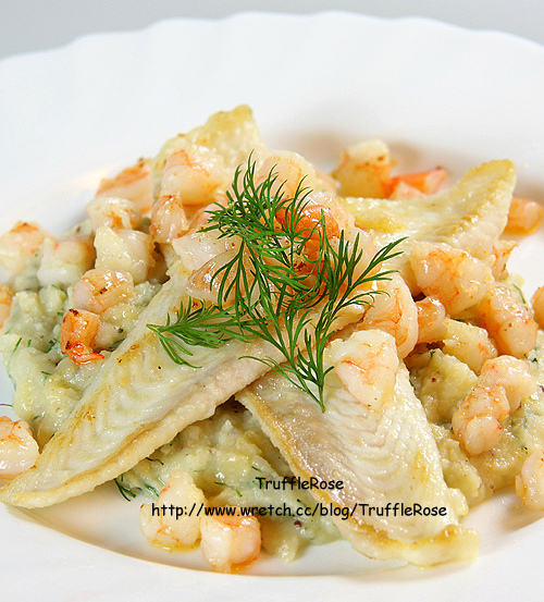 「吃飯」鰈魚和鮮蝦佐蒔蘿馬鈴薯泥-1.jpg