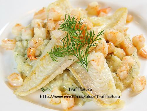 「吃飯」鰈魚和鮮蝦佐蒔蘿馬鈴薯泥-4.jpg