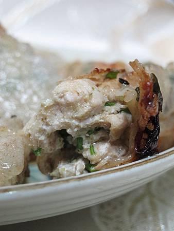 綠咖哩雞肉捲