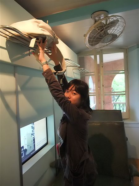 英國領事館-2樓是日式展覽,車站模擬