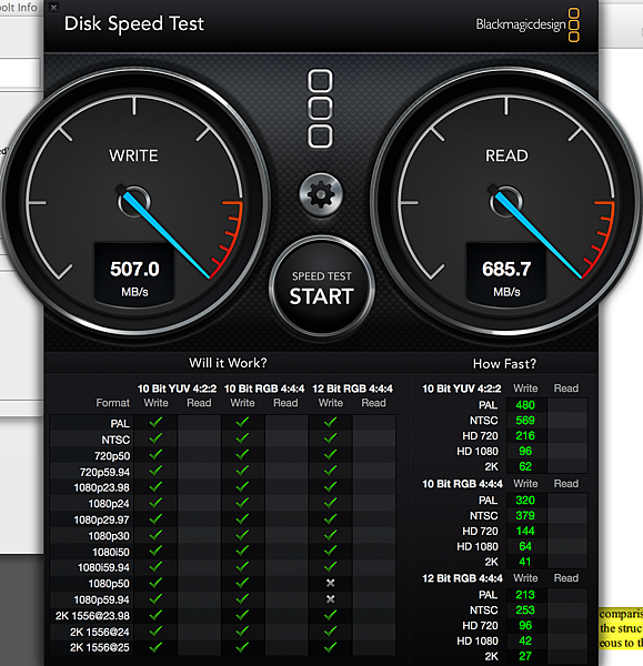 samsung ssd 1TB raid 0 thunderbolt