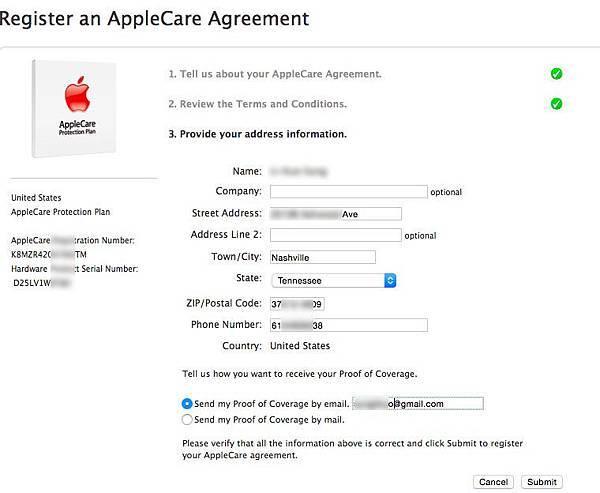 apple care 4