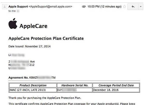 apple care 6