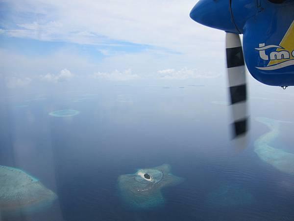 水上飛機空照
