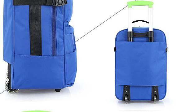 單向輪行李箱