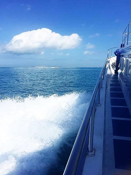 澎湖吉貝搭船