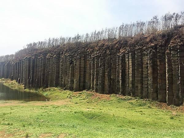 澎湖玄武岩柱