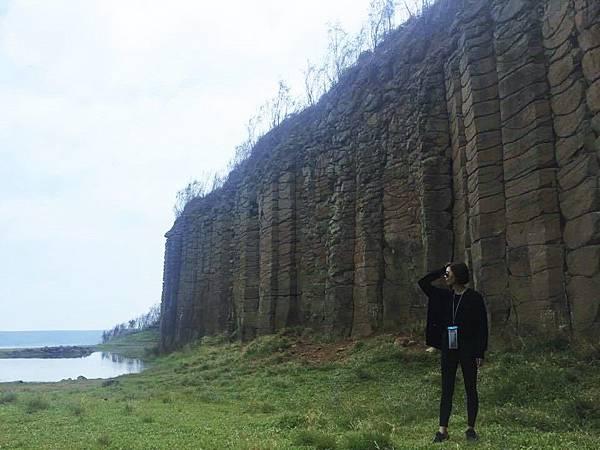 澎湖玄武岩柱-阿貴師
